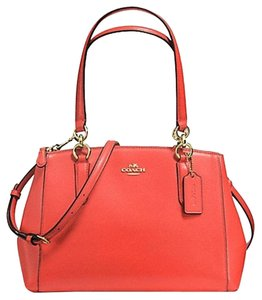 Coach Carryall Christie Tote 36637 Satchel in GOLD/ Watermelon