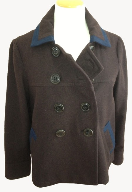 Preload https://item1.tradesy.com/images/boden-chocolate-brown-preppy-cropped-pea-coat-size-petite-6-s-1813295-0-0.jpg?width=400&height=650