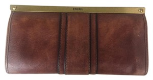 Fossil Brown Leather Fossil Wallet