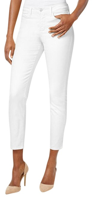 Item - White Light Wash Clarissa Colored Ankle Msrp Skinny Jeans Size 34 (12, L)