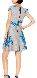 Betsey Johnson short dress Gray/blue on Tradesy