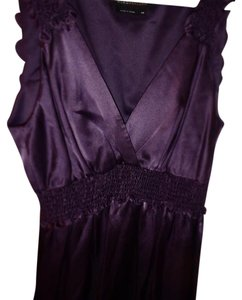BCBGMAXAZRIA Top Royal Purple