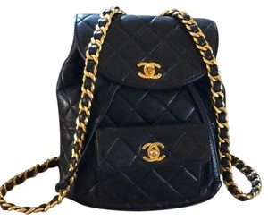 Channel Quilted Backpack Backpack