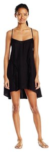Volcom short dress Black Ruff Crowd Tank Lace on Tradesy