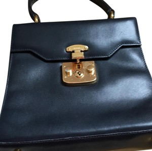 Gucci-- flash sale!!! Satchel in navy