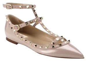 Valentino Rockstud T Strap Pink Size 36 Nude Pumps