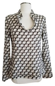 Tory Burch Sequin Elephant Tunic