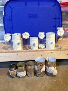 Jars And Cans Decor