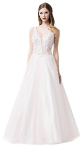 Bicici & Coty Ball Gown Sleeveless Beaded Cc61171 Dress
