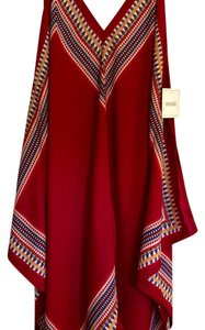 Meraki short dress Red multi Boho Handkerchief on Tradesy