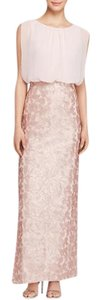 Aidan Mattox Column Gown Sequin Dress