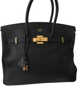 Herms Hermes Birkin Casual Elegant Wristlet in Black