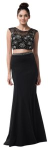 Bicici & Coty Beaded Backless Trumpet Ps2114 Dress