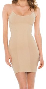 Cass Luxury Shapeware short dress Nude Slip Adjustable Straps Cami Lingerie on Tradesy