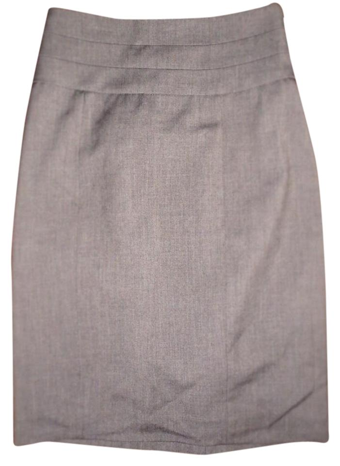 47f1a9d9170f H&M Grey Basic Pencil Skirt Size 8 (M, 29, 30) - Tradesy