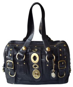 Coach 65th Legacy Lily 11625 Satchel in black
