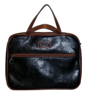 Gigi Hill Makeup Athena Black, Brown Travel Bag