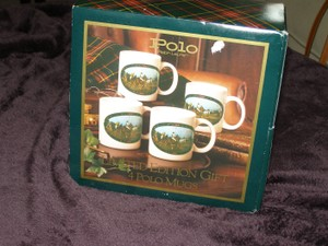 Reduced!! Ralph Lauren Polo Limited Edition Gift Set Mugs