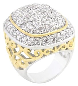 SALE!!! Oversized Bold Cubic Zirconia Ring [SHIPS NEXT DAY]