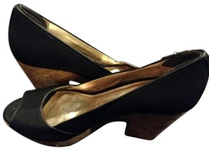 Antonio Melani black Wedges