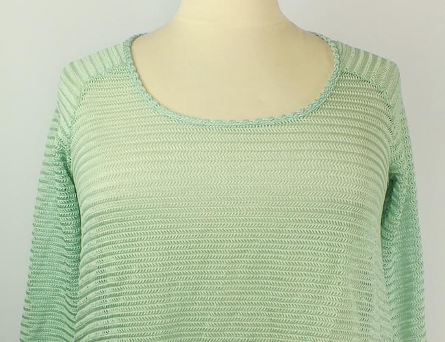 Tattoo Me Plus Size Fashions A-line Top Spring Green Image 1