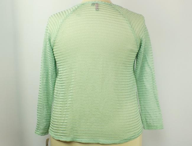 Tattoo Me Plus Size Fashions A-line Top Spring Green Image 3
