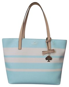 Kate Spade Tote in Blue/Cement