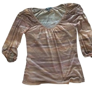 Express Sheer Top Black/brown