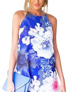 Other short dress Blue/pink/white on Tradesy