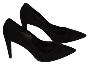 Ralph Lauren black suede Pumps