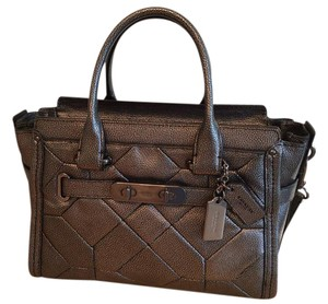 Coach Swagger Swagger 27 Satchel in Gunmetal
