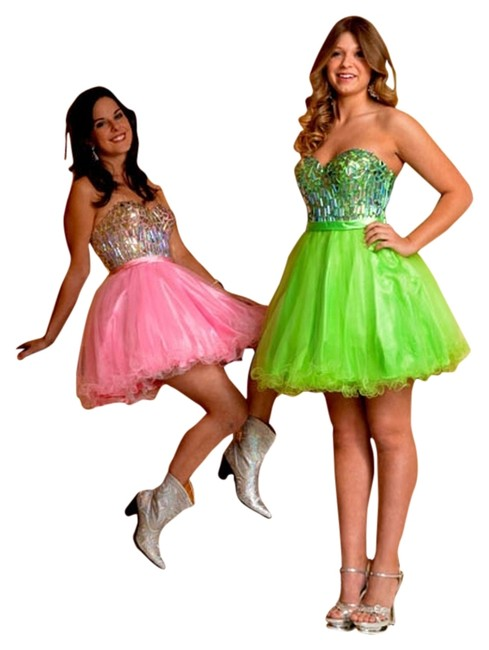 Preload https://item1.tradesy.com/images/vienna-prom-green-strapless-beaded-corset-bright-above-knee-formal-dress-size-8-m-1813765-0-0.jpg?width=400&height=650