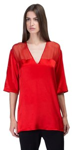 CoSTUME NATIONAL Top Red