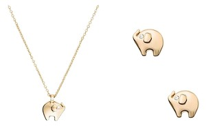 Kate Spade Kate Spade Lucky Elephant Set Necklace/Earring