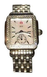 Michele MW06V01A1025 0.49ct Tw- 108 Diamonds Sapphire Crystal 5atm Water Resistant