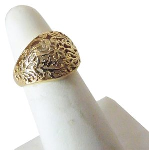Technibond Technibond Filigree Dome Ring Size 8