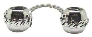 PANDORA Authentic Pandora Family Ties Safety Chain .Tag & Box Included