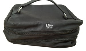 Dior Dior Black Nylon Cosmetic Case