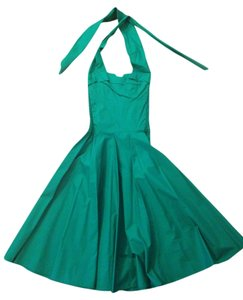 Trashy Diva Retro Cotton Halter Sweetheart Date Night Dress