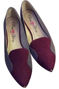 Penny Loves Kenny Red and grey Flats