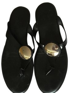 Hogan Black Sandals