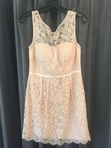 Jenny Yoo Blush/Gold Thread Harlow Dress