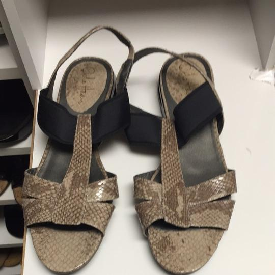 Cole Haan Taupe Sandals