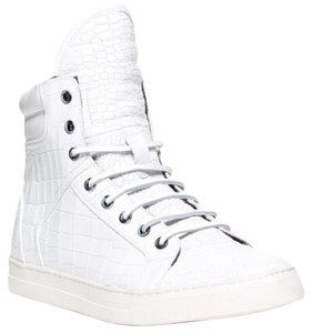 Kenneth Cole Croc Crocodile High Top Hi Top White Athletic