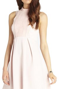 BCBGeneration short dress Rose smoke on Tradesy