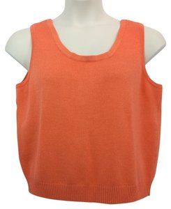 St. John Coral Cami Knit Top