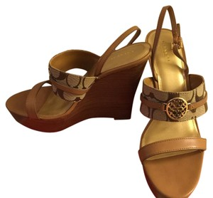 Coach Ginger/Khaki Wedges