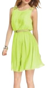 Jessica Simpson short dress Lime on Tradesy
