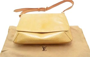 Louis Vuitton Leather Vintage Vernis Casual Shoulder Bag