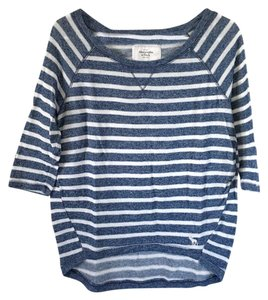 Abercrombie & Fitch Ficth Top Blue, White